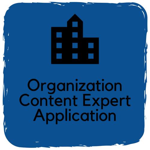 Organization Content Expert Application
